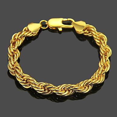 voordelige Heren Armband-Heren Armband crossover Patroon Punk Legering Armband sieraden Goud / Zilver Voor Dagelijks