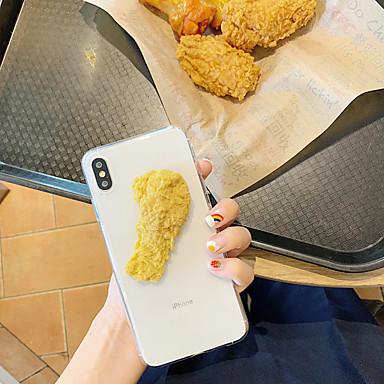 voordelige iPhone-hoesjes-hoesje Voor Apple iPhone XS / iPhone XR / iPhone XS Max Patroon / DHZ Achterkant Voedsel TPU
