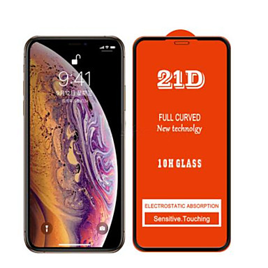 voordelige iPhone screenprotectors -21d 9h schermbeschermer voor iphone 11 11pro 11promax gehard glas high definition voor iphone x xs xr xsmax