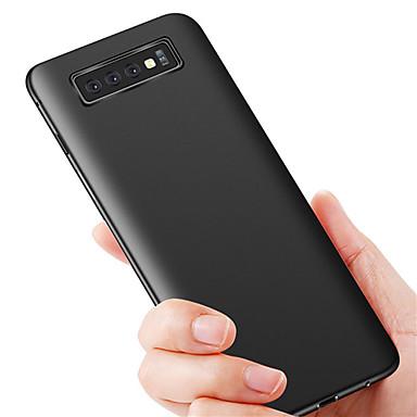 voordelige Galaxy S-serie hoesjes / covers-hoesje Voor Samsung Galaxy S9 / S9 Plus / S8 Plus Ultradun Achterkant Effen TPU