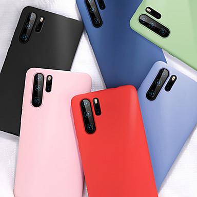 voordelige Galaxy Note-serie hoesjes / covers-zachte vloeibare siliconen case voor Samsung Galaxy Note 10 Note 10 plus Note 9 Note 8