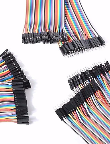 ราคาถูก อุปกรณ์ไฟฟ้า&อุปกรณ์-ชายสากลชาย / ชายหญิง / หญิงสายดูปองท์หญิงที่ตั้งไว้สำหรับ Arduino