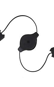 retractable usb cable de extensión (70 cm de longitud)