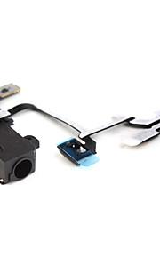 flex kabel met cudio connector voor iphone 4g (zwart) iphone vervangende onderdelen