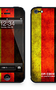 "da code ™ hud for iphone 4 / 4s: ""tyskland"" (flagg serie) iphone hud klistremerker"