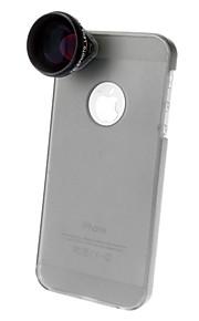 알루미늄 다른 4x 500 렌즈 케이스 아이폰 5 휴대 전화 렌즈