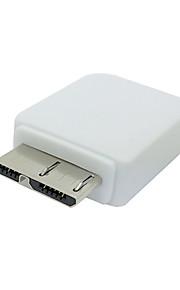 S4 S3 i9500 Micro USB de 5 pines hembra a Micro USB 3.0 Adaptador macho de 9 pines para Samsung Galaxy Nota 3 N900 N9000