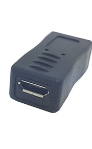 U2-201 Micro USB macho a Micro USB hembra para Samsung tabletas y teléfonos móviles