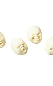Menneskeligt ansigt Style Anti-stress Tool (Random Mønster)