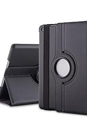 ליצ'י גרגרים כיבוי אוטומטי & נרתיק עור PU השכמה עם מעמד עבור iPad 2/3/4