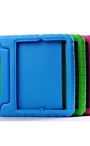 Case Kompatibilitás iPad 4/3/2 Ütésálló Állvánnyal Fekete tok Egyszínű EVA mert iPad 4/3/2