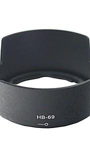 Dengpin® HB-69 Reversible Lens Hood for Nikon D3200 D3300 D5200 D5300 AF-S DX NIKKOR 18-55mm f/3.5-5.6G VR II Lens