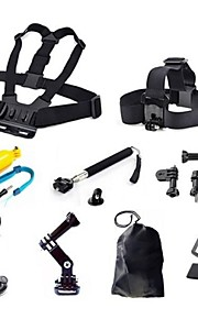 Chest Harness Front Mounting Case/Bags Screw Suction Cup Straps Hand Straps Hand Grips/Finger Grooves Monopod Tripod Mount / Holder Smart