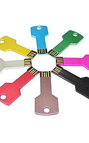 16GB USB flash sürücü usb diski USB 2.0 Plastik Kompakt Boyut Bonesiz