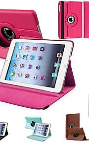 Maska Pentru iPad Mini 3/2/1 Cu Stand Rotație 360 ° Carcasă Telefon Culoare solidă PU piele pentru iPad Mini 3/2/1