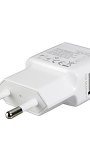 EU Plug Dual USB Power Adapter Wall Charger for iPad, iphone 8 7 Samsung S8 S7 &