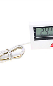 """Digital 1.5"""" LCD Thermometer with Probe (1 x AG3)"""