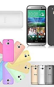 케이스 제품 HTC HTC케이스 울트라 씬 투명 뒷면 커버 한 색상 하드 TPU 용