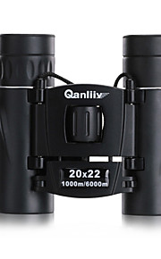 Qanliiy 20 X 22 mm Binoculars Night Vision Waterproof / High Definition / Generic / Roof / Fully Multi-coated