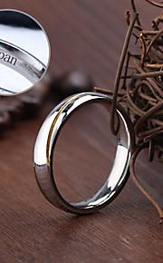 Rings - Spersonalizowane Biżuteria Stal nierdzewna - srebrny