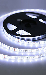 ZDM® 5m Flexible LED Light Strips 300 LEDs SMD 2835 Warm White / Cold White / RGB Waterproof / Cuttable / Self-adhesive 12 V 1pc / IP65