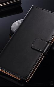 fodral Till Samsung Galaxy S8 / S7 Korthållare / Lucka Fodral Enfärgad Hårt PU läder för S7 edge / S7 / S6 edge plus