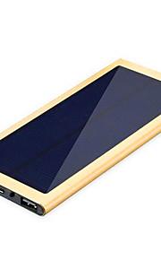 noodoplader externe batterij 5V 1.0A 2.1A #A Oplader Meerdere uitgangen Zonne-energielader Super plat LED