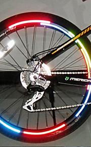 רצועה מחזירת אור / אורות גלגל פנסי אופניים - רכיבת אופניים עמיד במים, החלפת צבעים אחר רכיבה על אופניים