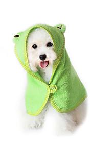 Кошка Собака Полотенца Компактность Белый Желтый Зеленый Синий Розовый