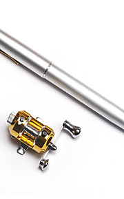 Mini Fishing Rod + Reel / Carbon Pen Rod & Trolling Reel Combo