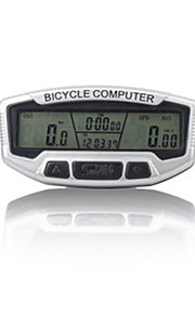 Sunding SD-558A Bicycle Code Table Odometer Waterproof White Luminous Glow