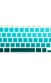SoliconeKeyboard Cover For11.6'' / 13.3'' / 15.4'' Macbook Pro med Retina / MacBook Pro / Macbook Air med Retina / MacBook Air