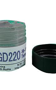 cmpick gd220 gris peso de 20 gramos de grasa térmica de cañón