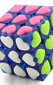 Rubiks terning YONG JUN 3*3*3 Let Glidende Speedcube Magiske terninger Puslespil Terning Professionelt niveau Hastighed Konkurrence Hjerte