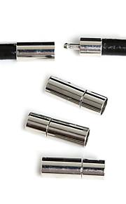 Hole Size 5mm Rodium 10Pcs Smykker