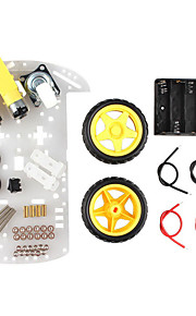 Smart Car Chassis Tracking Car Robot Car Speed Chassis