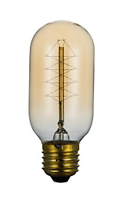 T45 220V 40W Wire Around Edison Light Bulb Edison Corridor Terrace Personality Retro Art Deco Lamp