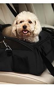 Кошка Собака Переезд и перевозные рюкзаки Чехол для сидения автомобиля Животные Корпусы Компактность Складной Однотонный Черный Зеленый