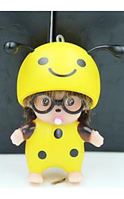 Fantasy biedronki pszczoły małpa qi auto zawieszka