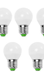 EXUP® 5pcs 9W 900lm E14 E26 / E27 LED Globe Bulbs G45 12 LED Beads SMD 2835 Decorative Warm White Cold White 110-130V 220-240V