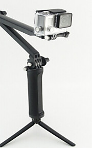 Telescopic Pole Monopod Tripod Mount / Holder Multi-function For Action Camera Gopro 5/4/3/3+/2/1 Rollei Action cam 420 Rollei Action cam