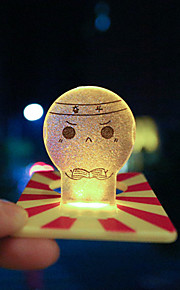 1 Pça. Luz LED Descanso em Viagens para Descanso em Viagens Azul Escuro Amarelo Vermelho Azul Rosa claro