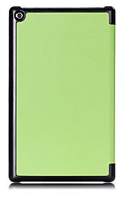 Smart pu capa de couro caso para amazon novo kindle fogo hd8 hd 8 com protetor de tela