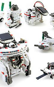 7 IN 1 Robot Legetøjsbiler Soldrevet legetøj Space Toys Legetøjsfly Forsknings- og opdagelsessæt Legetøj Robot Soldrevet Genopladelig GDS