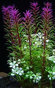 Akváriumdíszek Vízi növény Nem mérgező és íz nélküli Műanyag