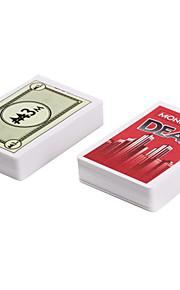 Monopoly Deal Brætspil Kortspil Matatorspil Sjov Kort Papir Klassisk Drenge Gave