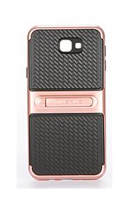 Custodia Per Samsung Galaxy J7 Prime J5 Prime Con supporto Custodia posteriore Tinta unica Morbido PC per J7 Prime J5 Prime
