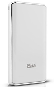 PADO® 21200mAh power bank 2.1A external battery Multi-Output with Cable Flashlight Automatic Adjusted Current