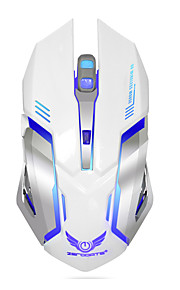 ZERODATE Kabellos Gaming Mouse Wiederaufladbar DPI Adjustable Hinterleuchtet