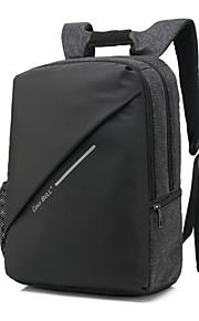 15,6 inch met USB-laad-interface algemene vrijetijdsbesteding schoudertas reistas laptop tas voor oppervlak / dell / hp / samsung / sony